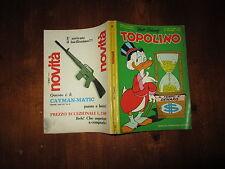 WALT DISNEY TOPOLINO LIBRETTO NUMERO 680 CON INSERTO 1968 NATALE MONDADORI
