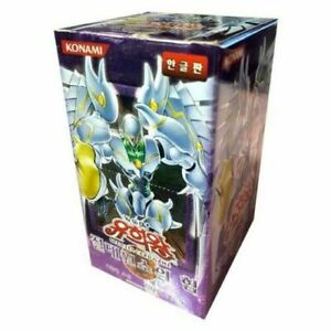 "Yugioh cards ""Elemental energy"" Booster Box (Korean Ver.)"