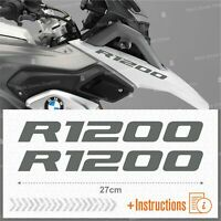 2pcs Adesivi Grigio compatibile Moto BMW R 1200 GS LC R1200 ADVENTURE R1200GS