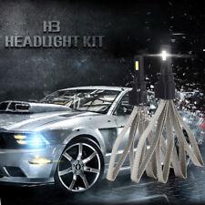 2x H3 LED 12V 100W Auto Scheinwerfer Lampe Birnen LED Canbus Error Decoder Kit