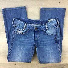 Diesel Industry Ryoth Boot Cut Women's Jeans Size W28 Fit W31 L27 hemmed (VV4)