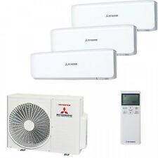 MITSUBISHI TRIO-Split Inverter air Conditioning 2x srk20 ZM-S, srk35 ZM-S + scm60 zjs