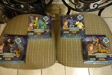 Scooby-Doo  SCOOB! - Action Figure 2pack - COMPLETE SET of 4