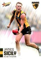 ✺Mint✺ 2020 HAWTHORN HAWKS AFL Card JAMES SICILY Footy Stars