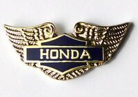 HONDA AUTOMOBILE JAPAN GOLD WINGS GOLDWING EMBLEM LOGO LAPEL PIN BADGE 3/4 INCH