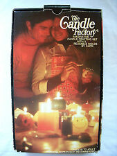 Vintage CAPRI 1970's THE CANDLE FACTORY Making Kit Mushroom Star Wax Scent Molds