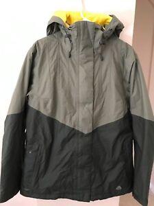 Nike NikeLab ACG Storm-Fit Women Jacket Khaki  L  258476-311 Thermal $185 Rare