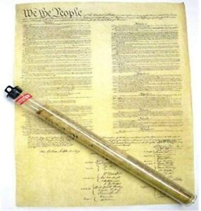 Historic U.S. Consitution Document Reproduction