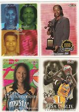 1999 SKY BOX HOOPS WNBA BASKETBALL SET - SMITH/HOLDSCLAW ROOKIES