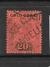 GOLD COAST 1889-94  20/-   QV   FU   SG 25