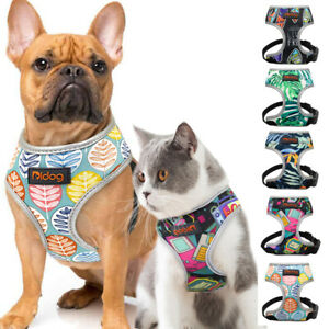 Soft Fabric Mesh Dog Cat Harness Adjustable Reflective Pet Vest for Jack Russell