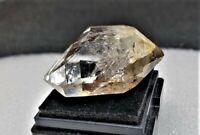 Herkimer Diamond Quartz Crystal Reiki Healer Stone Paradise Falls NY Hydrocarbon