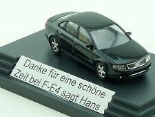 Busch Audi A4 3.0 quattro F-E4 Danke sagt Hans Werbemodell 1:87 OVP 1411-17-90