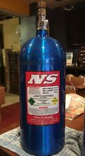 NS ~ Nitrous Supply - Nitrous Bottle 10 lbs. Electric Blue