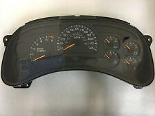 2003-2005 Chevy GMC Silverado Sierra Rebuilt Speedometer Gauge Cluster 15135672
