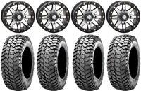 "STI HD9 14"" Bdlk Wheels MH (6+1) 30"" Liberty Tires Kawasaki Mule Pro FXT"