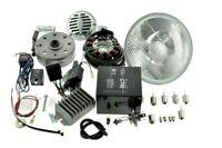 Umbausatz Zündung Powerdynamo Vape MZ ETS TS 125 150 komplett mit Reflektor H4
