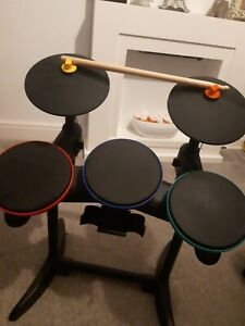 Guitar Hero Band Hero Drum Kit With Cymbals and Sticks - Sony Playstation 3 PS3