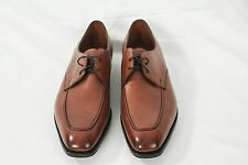 NIB! Ralph Lauren Purple Label Edward Green Dress Shoes Brown Oxfords Size 12.5