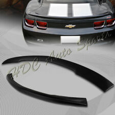 For Chevrolet Camaro LT SS LS Coupe Black ABS Rear Trunk Lid Duck Spoiler Wing