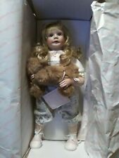 Heritage Mint Ltd Collection Porcelain Doll Jennifer D-26 With Puppy