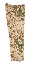 German Army Issued Tropical Tarn Camo Combat Field Trousers Grade 1 Army Surplus