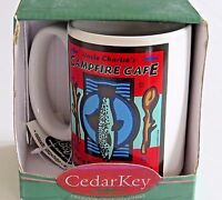 Cedar Key Fishboy Coffee Mug 12 oz Cup Uncle Charlies Campfire Cafe Cocoa Tea