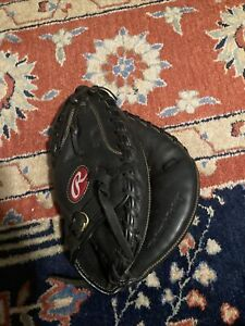 RAWLINGS RENEGADE RCMBB 32 1/2 INCH YOUTH CATCHERS MIT RIGHT HAND THROW GLOVE