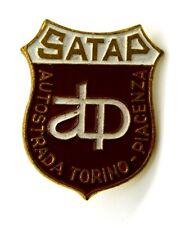Distintivo SATAP Autostrada Torino-Piacenza cm 2,5 x 2
