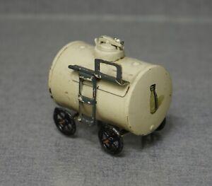 Pre War WWII Marklin Tin Toy Train O Gauge 0 Flat Car 17770 Milk Tank Cistern