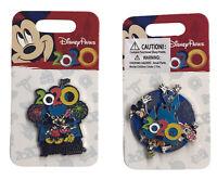 Disney Parks Disneyland Resort 2020 Mickey Minnie Pin NEW lot (2) pins