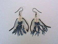 Handmade Beaded Angel Earrings - For Pierced Ears