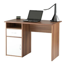 Alphason Office Valencia French Walnut Student Computer Desk Workstation AW22145