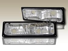 88-98 CHEVY / GMC C10 FULL SIZE CLEAR BUMPER LIGHTS PARKING SIGNAL LAMPS