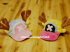 One Piece Chopper Pet Cat Kitty Doggy Dog Costume New World Strong Era Hat Cap
