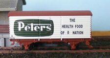 "Victorian Railways U Van ""Peters"" with Micro-Trains couplers"