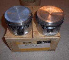 NOS Set of 2 Covmo Pistons For MGA  18802- Standard Size