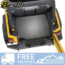 Bestop Rear Cargo Liner 07-10 Jeep Wrangler JK & Unlimited JKU 51505-01 Black
