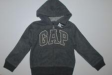GAP~USA~104-110~Übergangsjacke~Jacke~Fleece~Fleecejacke~Junge~grau~Kinderjacke