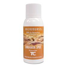 Tc Microburst 3000 Air Freshener Refill, Cinnamon Spice, 2 oz, 12/Ct
