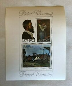 """""""PETER"""" Memorabilia - A Collectors Sheet & Cover - PIETER WENNING - SOUTH AFRICA"""