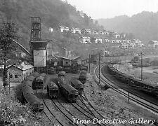 View of Caples, West Virginia - 1938 - Historic Photo Print