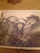 Ephemera 1969 Picture Spalding Flower Festival Gleed Boys School Diddy Men da6