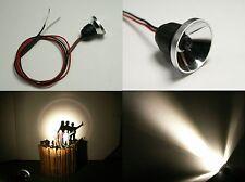 S245- 2 Stück LED Flutlichtstrahler Fassadenstrahler Scheinwerfer warmweiß 6-12V