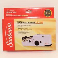 Sunbeam Portable Cordless Handheld Sewing Machine SB011 - BRAND NEW