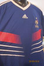 Kombination FRANKREICH - Farbe Blau mit passender weissen Shorts in Gr. XL - Neu