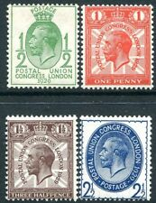 1929 PUC Set of 4 UNMOUNTED MINT V81412