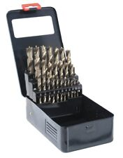 "25pc Brad Point Drill Bit Set For Wood Working 1/8"" to 1/2 Inch"
