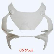 Unpainted White ABS Upper Fairing Cowl Nose For Honda CBR954 CBR 900RR 2002-2003
