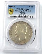 FRANCE 5 Francs Argent Napoléon III 1856 A ( PARIS ) PCGS